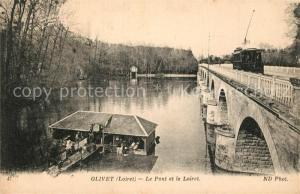 AK / Ansichtskarte Olivet_Loiret Le Pont et le Loiret Olivet Loiret