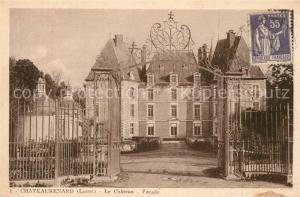AK / Ansichtskarte Chateaurenard_Loiret Le Chateau Facade Chateaurenard Loiret