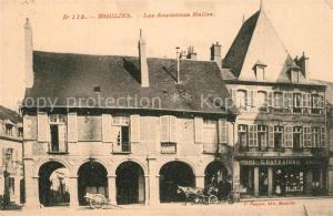 AK / Ansichtskarte Moulins_Allier Les Anciennes Halles Moulins Allier