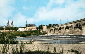 AK / Ansichtskarte Moulins_Allier Le Pont Regemortes Moulins Allier