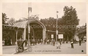 AK / Ansichtskarte Vichy_Allier Les Galeries Couvertes Vichy Allier
