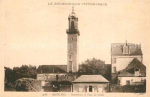 AK / Ansichtskarte Moulins_Allier Pensionnat et Tour St Gilles Moulins Allier