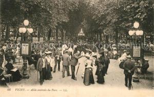 AK / Ansichtskarte Vichy_Allier Allee centrale du Parc Vichy Allier