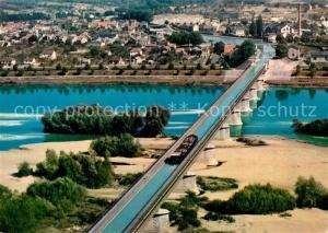 AK / Ansichtskarte Briare le Canal Le pont canal et la Loire