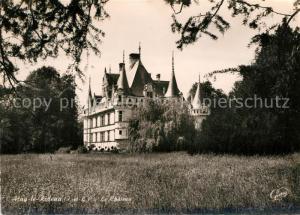 AK / Ansichtskarte Azay le Rideau Le Chateau Azay le Rideau