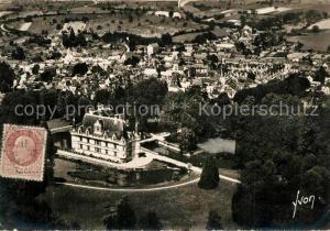 AK / Ansichtskarte Azay le Rideau Chateaux de la Loire Vue aerienne Azay le Rideau