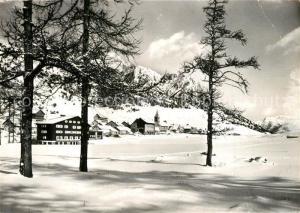 AK / Ansichtskarte Montgenevre Les Grandes Alpes en hiver Vue generale Montgenevre