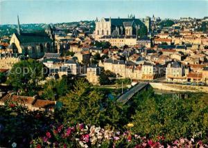 AK / Ansichtskarte Poitiers_Vienne Vue generale St Radegonde Cathedrale St Pierre Poitiers Vienne