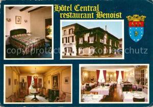 AK / Ansichtskarte Chaunay Hotel Central Restaurant Benoist Chaunay