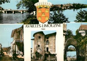 AK / Ansichtskarte Availles Limouzine Vue partielle Availles Limouzine