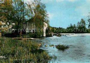 AK / Ansichtskarte Montmorillon Le Moulin sur la Gartempe Montmorillon