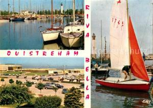 AK / Ansichtskarte Riva Bella Le Bassin des Yachts Arrivee a la Plage et le Casino Le Port Riva Bella