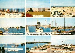 AK / Ansichtskarte Riva Bella Arrivee d'une Course de Voiliers Le Casino Entree de la Plage Port des Yachts Port et la Jetee Ecluse et le Phare Riva Bella