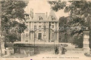 AK / Ansichtskarte Bar sur Seine Chateau Trumet de Fontarce Bar sur Seine