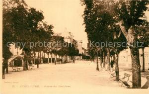 AK / Ansichtskarte Angouleme Avenue des Marichaux Angouleme