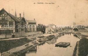 AK / Ansichtskarte Troyes_Aube Port aux Bois Troyes Aube