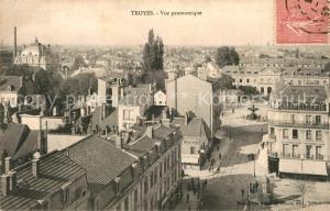 AK / Ansichtskarte Troyes_Aube Vue panoramique Troyes Aube