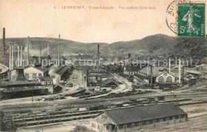 AK / Ansichtskarte Le_Creusot_Saone et Loire Usines Schneider Le_Creusot_Saone et Loire