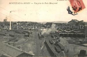 AK / Ansichtskarte Montceau les Mines Vue prise du Puits Maugrand Montceau les Mines