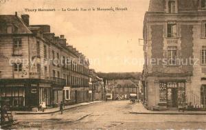 AK / Ansichtskarte Thury Harcourt Grande Rue et Monument Heroult Thury Harcourt