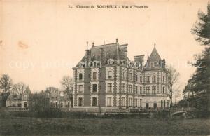 AK / Ansichtskarte Rocheux Chateau de Rocheux Vue d Ensemble Rocheux