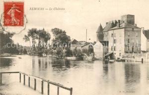 AK / Ansichtskarte Nemours_Seine et Marne Le Chateau Nemours Seine et Marne