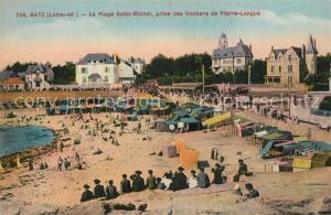 AK / Ansichtskarte Batz sur Mer La Plage Saint Michel prise des Rochers de Pierre Longue Batz sur Mer