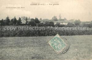 AK / Ansichtskarte Clesse_Saone et Loire Vue generale Clesse_Saone et Loire