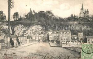 AK / Ansichtskarte Esneux Le Pont et le Mont Esneux