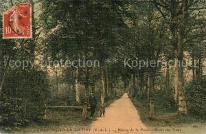 AK / Ansichtskarte Champrond en Gatine Entree de la Foret Route des Vaux Champrond en Gatine