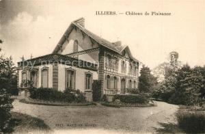 AK / Ansichtskarte Illiers Combray Chateau de Plaisance Illiers Combray