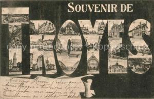AK / Ansichtskarte Troyes_Aube Vue partielle Troyes Aube