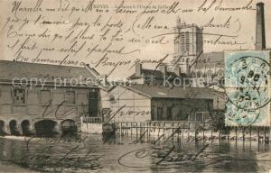 AK / Ansichtskarte Troyes_Aube La Seine a l'Usine de Jaillard Troyes Aube