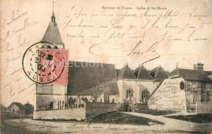 AK / Ansichtskarte Troyes_Aube Eglise de Ste Maure Troyes Aube