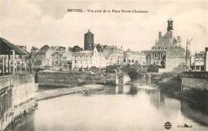 AK / Ansichtskarte Rethel_Ardennes Vue prise de la Place Noiret Chaigneau Rethel Ardennes