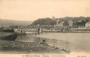 AK / Ansichtskarte Nouzon Vallee de la Meuse Le Pont et la Meuse Nouzon
