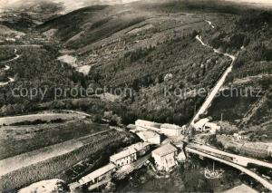 AK / Ansichtskarte La_Croix du Sud Vue aerienne et la Vallee de la Teysonne