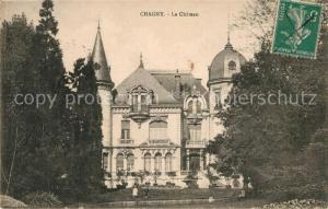 AK / Ansichtskarte Chagny_Saone et Loire Chateau Chagny Saone et Loire