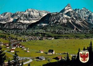 AK / Ansichtskarte Ehrwald_Tirol Mieminger Gebirge Ehrwald Tirol