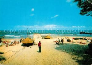 AK / Ansichtskarte Niechorze_Horst Strand Niechorze_Horst