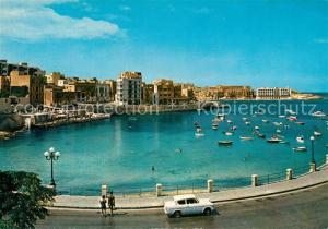 AK / Ansichtskarte Malta Balluta Bay Malta