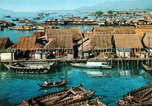 AK / Ansichtskarte Penang Stilt Houses Penang