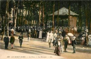 AK / Ansichtskarte Le_Mont Dore Le Parc la Musique Le_Mont Dore