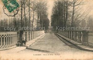 AK / Ansichtskarte Saint Mesmin_Nogent sur Seine Route de Rilly a Sainte Syre Saint Mesmin