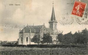 AK / Ansichtskarte Lux_Saone et Loire Eglise Kirche Lux_Saone et Loire