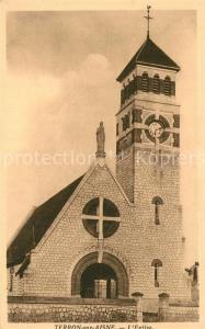 AK / Ansichtskarte Terron sur Aisne Eglise Kirche Terron sur Aisne
