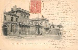 AK / Ansichtskarte Chalons sur Marne_Ardenne Hotel de la Prefecture Chalons sur Marne Ardenne
