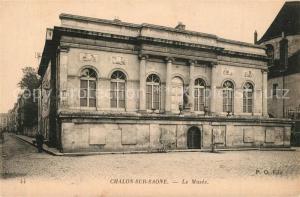 AK / Ansichtskarte Chalon sur Saone Le Musee Chalon sur Saone