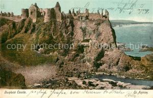 AK / Ansichtskarte Dunluce Panorama Castle Coast