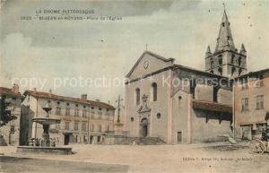 AK / Ansichtskarte Saint Jean en Royans Place de l`Eglise Saint Jean en Royans